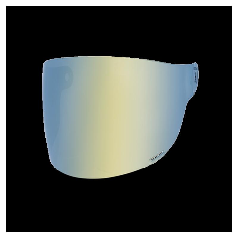 Bell Flat Visor - Bullitt Gold Iridium - black tab