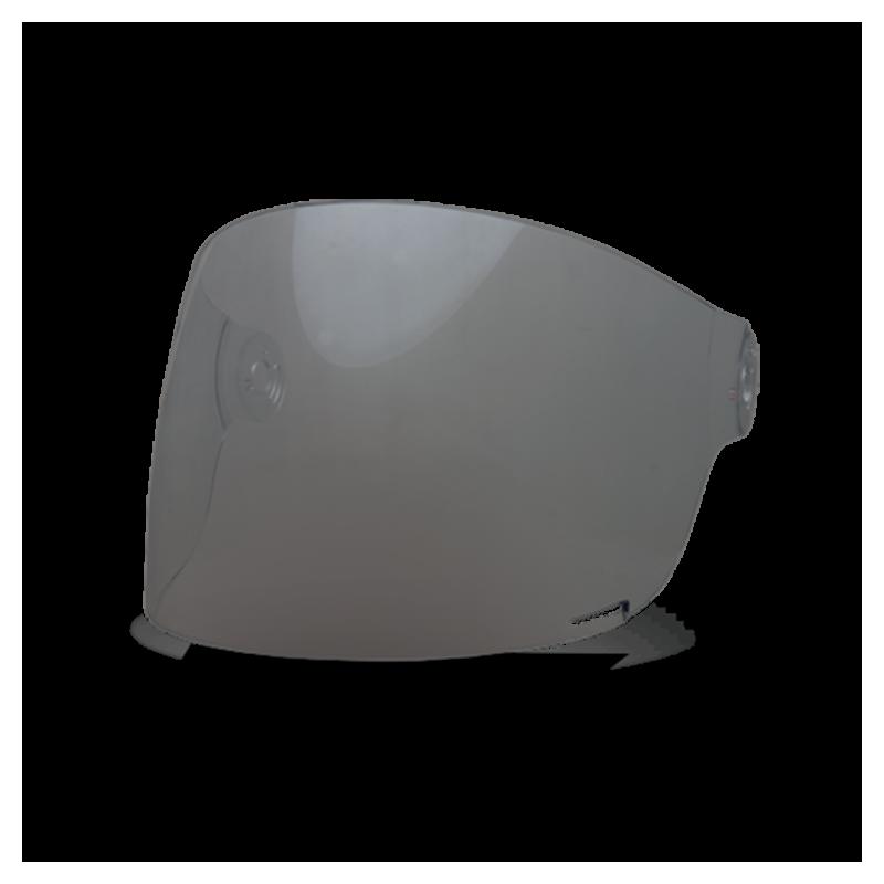 Bell Flat Visor - Bullitt Dark Smoke - black tab
