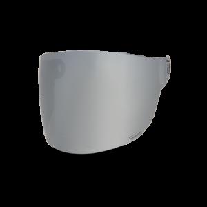 Bell Flat Visier - Bullitt Silver Iridium - braune Lasche