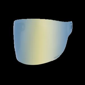 Bell Flat Visier - Bullitt Gold Iridium - braune Lasche