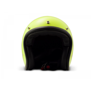 DMD Helm Vintage - Fluo Gelb mit ECE