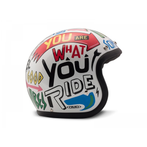 DMD Helm Vintage - Words mit ECE