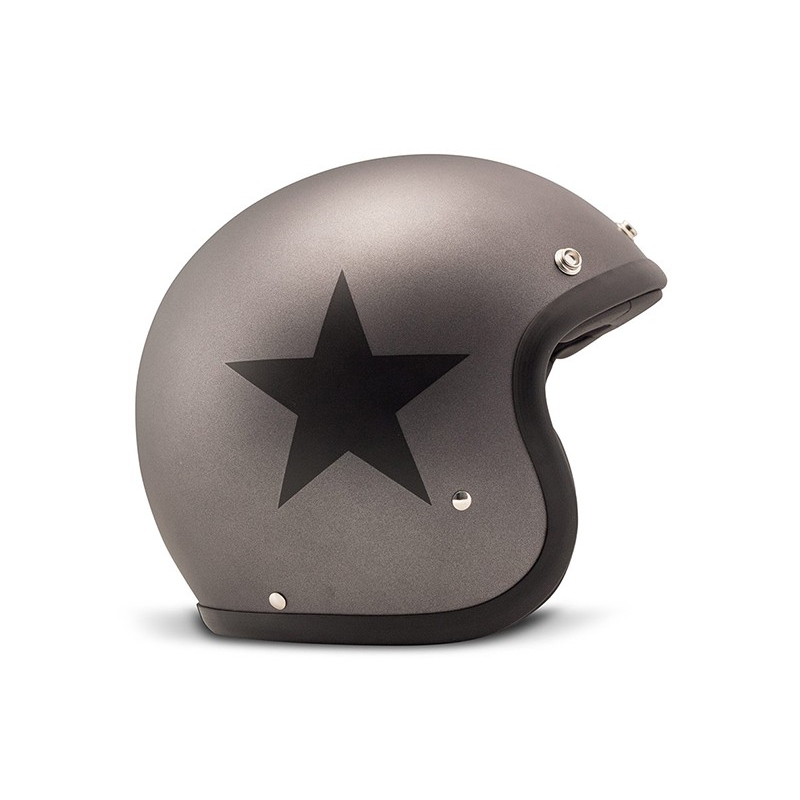 DMD Helm Vintage - Star mit ECE Grau