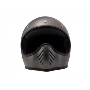 DMD Helm Seventy Five - Metallic Grau mit ECE