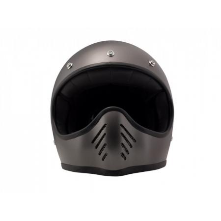 DMD Helmet Seventy Five - Metallic Grey with ECE