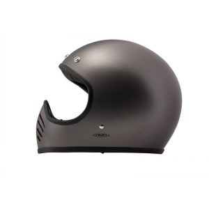 DMD Helm Seventy Five - Metallic Grau mit ECE