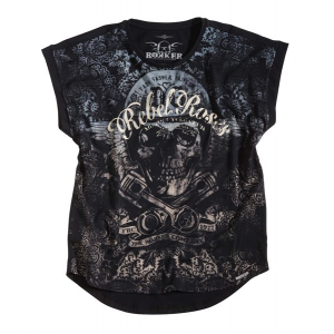 Rokker Ladies T-Shirt - Rebel Roses 77