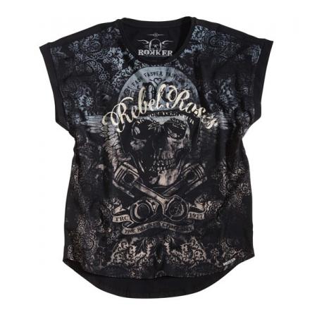 Rokker Ladies T-Shirt - Rebel Roses 77