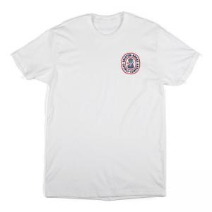 Brixton T-Shirt - Pace white