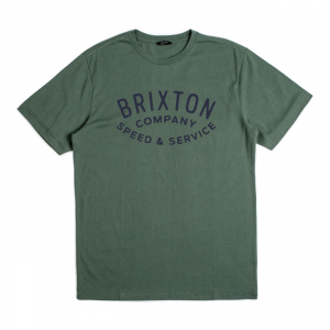 Brixton T-Shirt - Gasket green