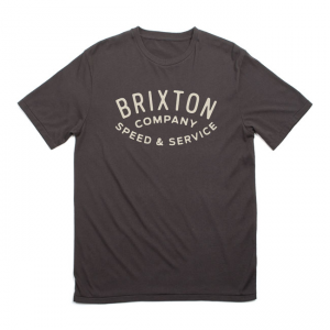 Brixton T-Shirt - Gasket black
