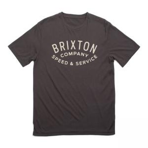 Brixton T-Shirt - Gasket Schwarz