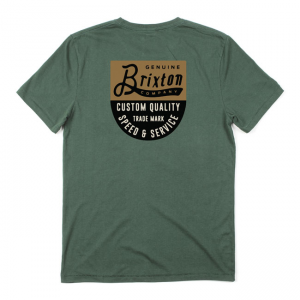 Brixton T-Shirt - Badge