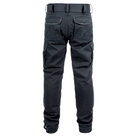 John Doe Cargohosen - Regular Schwarz