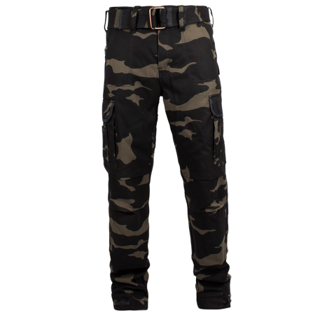 John Doe Cargohosen - Regular Camouflage