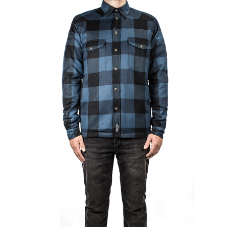 John Doe Shirt - Motoshirt Blue