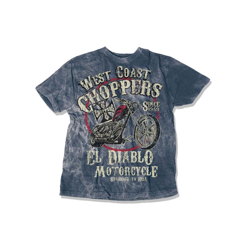 West Coast Choppers T-Shirt - El Diablo Vintage