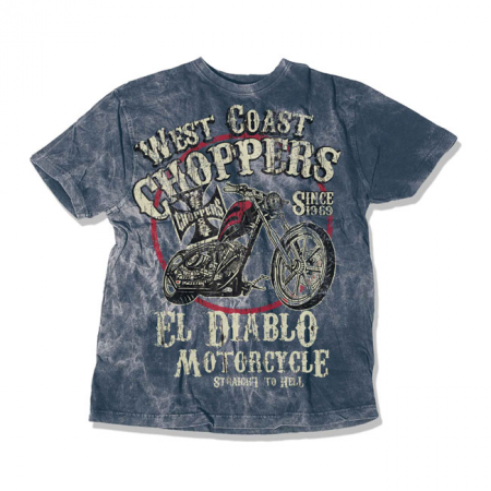 West Coast Choppers T-Shirt - El Diablo Vintage