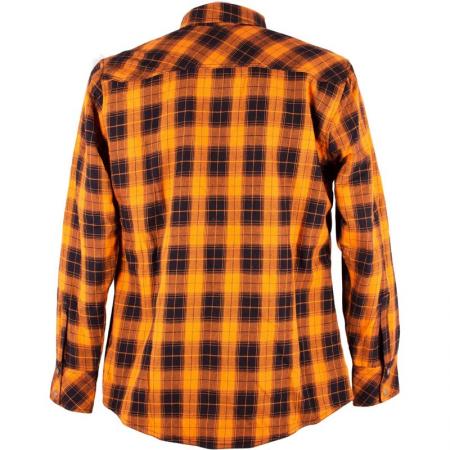King Kerosin Shirt - Speedtex Rider Orange Schwarz