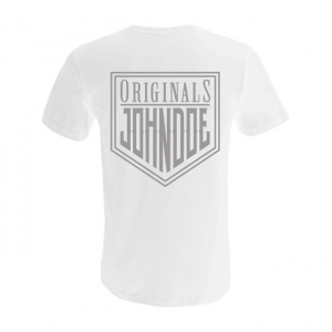 John Doe T-Shirt - Original Weiss