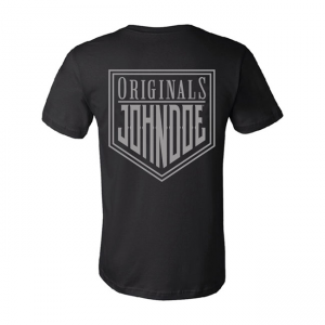 John Doe T-Shirt - Original Schwarz