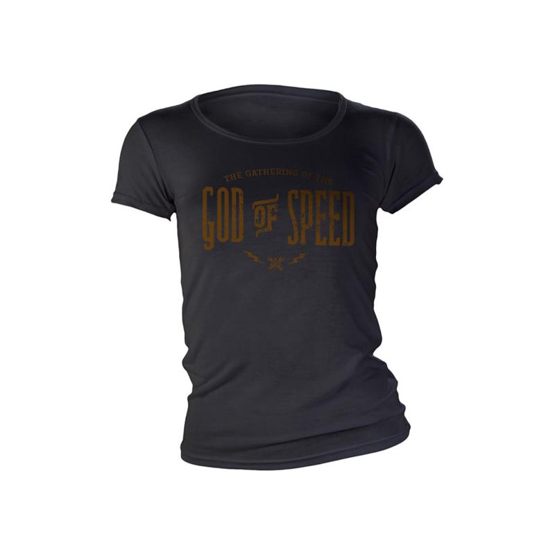 John Doe Frauen T-Shirt - God of Speed