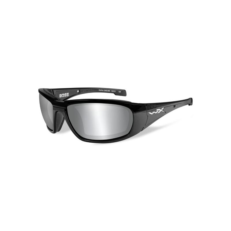 Wiley X Brille - Boss Smoke Grau