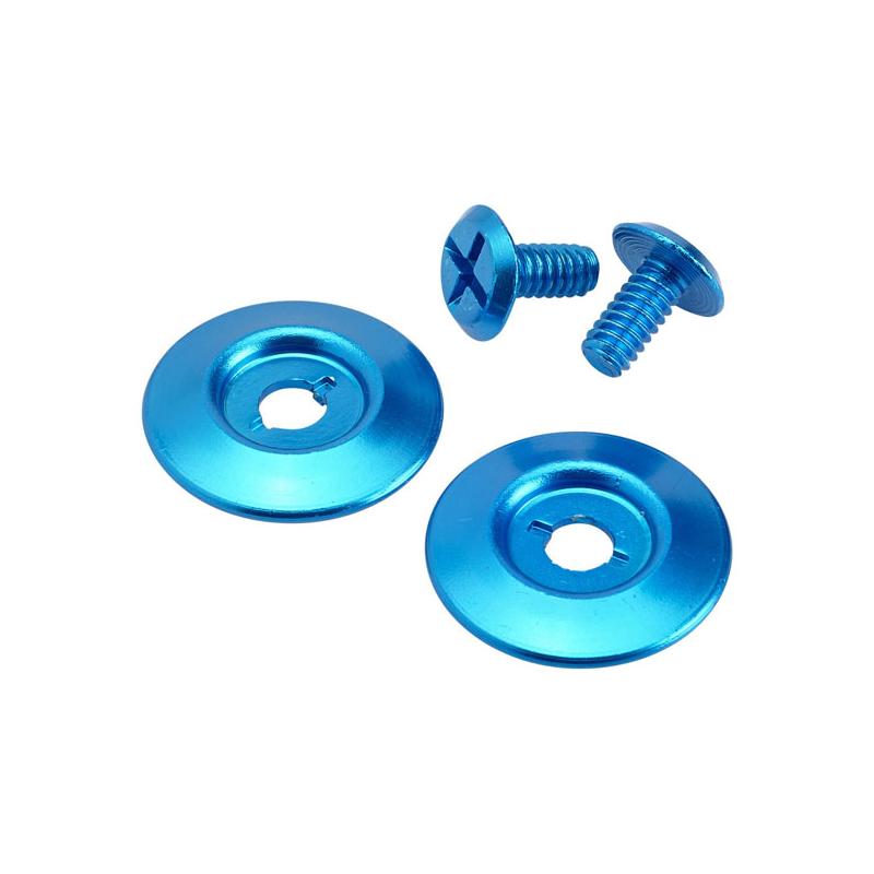 Biltwell Scharnierdeckel - Gringo S Hardware Kit Blau
