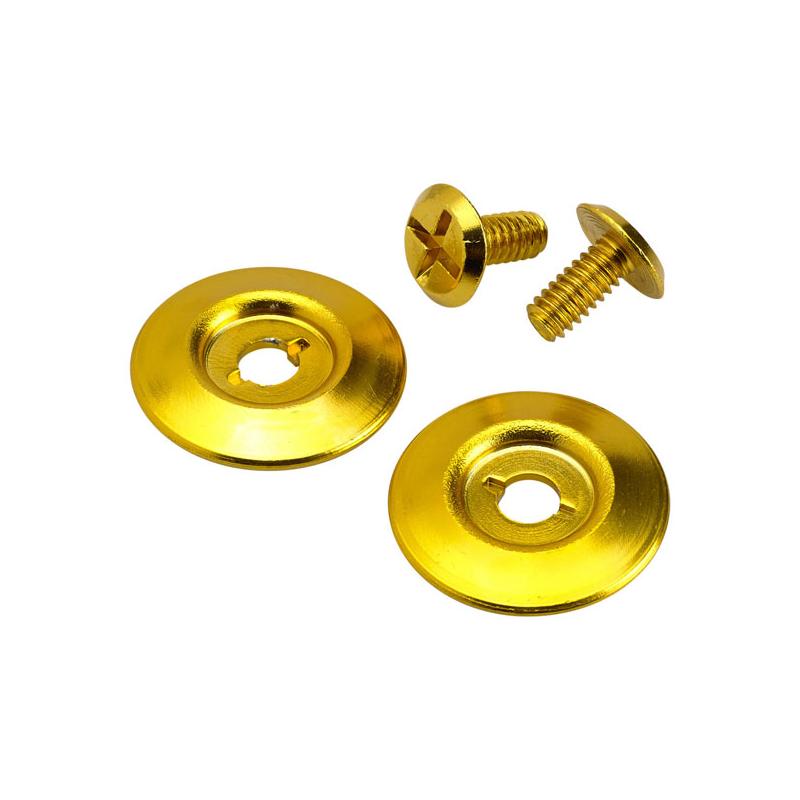 Biltwell Scharnierdeckel - Gringo S Hardware Kit Gold