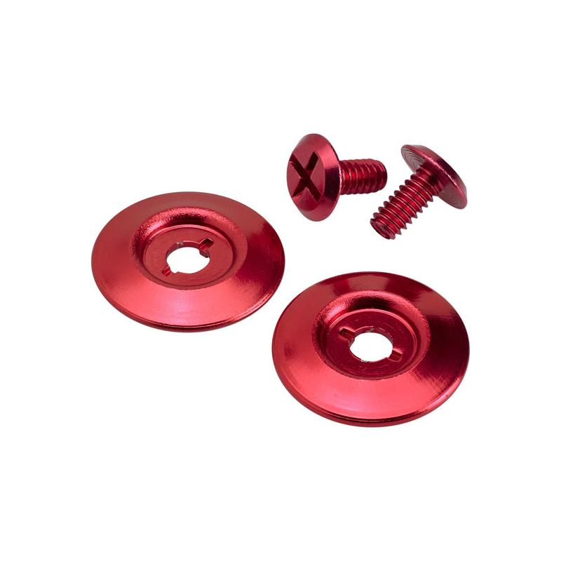 Biltwell Hinge Lid - Hardware Kit Gringo S Red