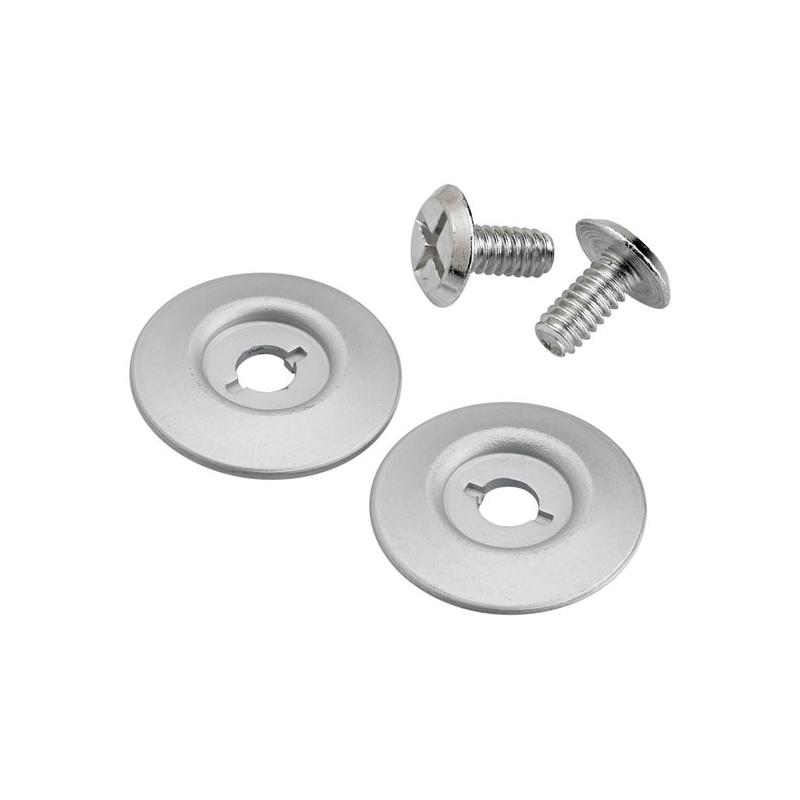 Biltwell Scharnierdeckel - Gringo S Hardware Kit Silber