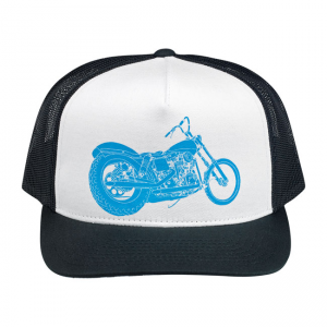 Biltwell Cap - Swingarm Trucker Black White
