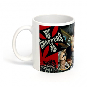 West Coast Choppers Becher - Ready for a Ride Weiss