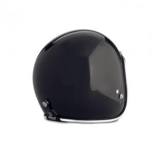 70s Helm Superflake - Glossy Schwarz mit ECE