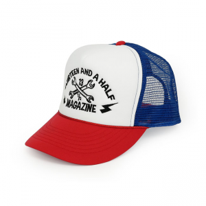 13 1/2 Cap - Trucker Red/Blue