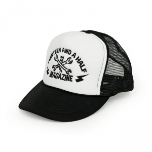 13 1/2 Cap - Trucker Black