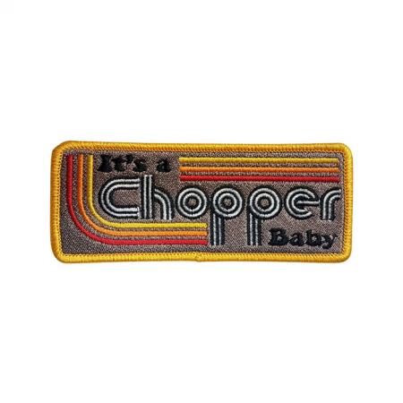 13 1/2 Patch - It's a Chopper Baby