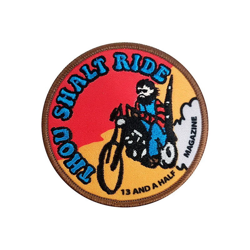 13 1/2 Patch - Thou Shalt Ride