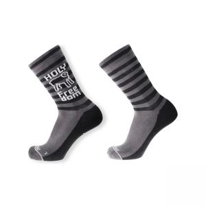 Holy Freedom Socken - Logo Grau
