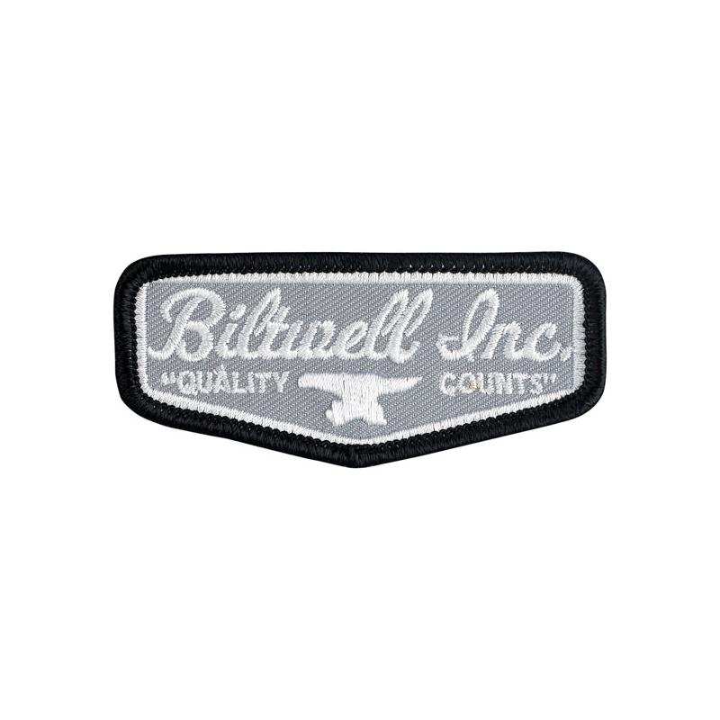Biltwell Patch - Shield Grau
