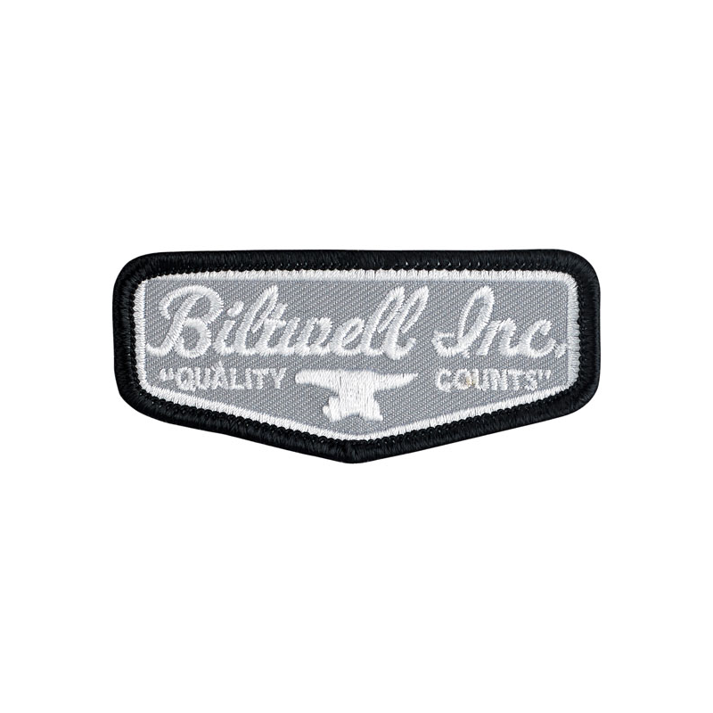 Biltwell Patch - Shield Grey