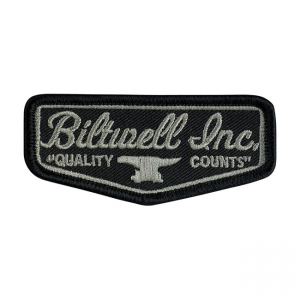 Biltwell Patch - Shield Schwarz