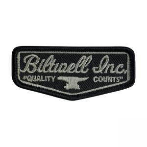 Biltwell Patch - Shield Schwarz