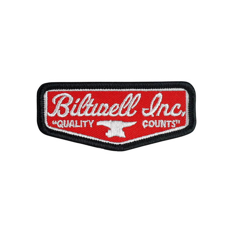 Biltwell Patch - Shield Red