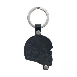 Biltwell Schlüsselanhänger - Skull Schwarz