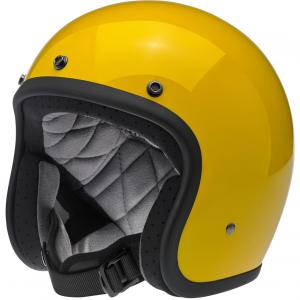 Biltwell Helm Bonanza - Safe-T Gelb