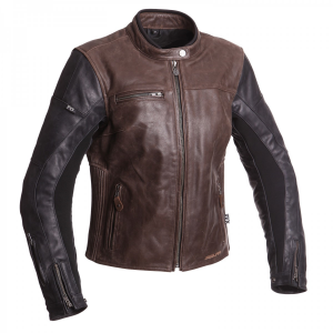Segura Ladies Leather Jacket - Nova Brown/Black