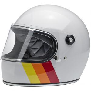 Biltwell Helm Gringo S - Tri-Stripe