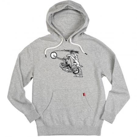 Biltwell Hoodie - Giant Grey