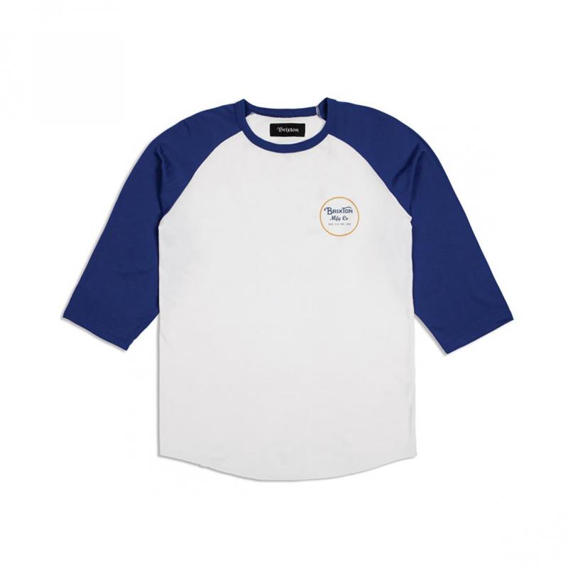 Brixton T-Shirt - Wheeler Cobalt